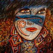 Self-portrait-2 Art Print