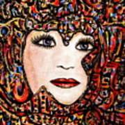 Self-portrait-6 Art Print