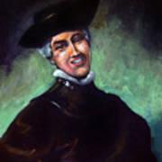 Self Portrait A La Rembrandt Art Print