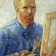 Self Portrait As An Artist Art Print