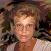 self portrait II Art Print