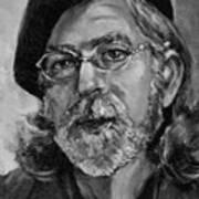 Self Portrait In Grey Art Print