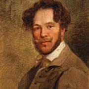 Self-portrait Of The Artist Art Print