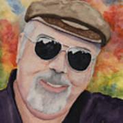 Self Portrait With Sunglasses Art Print