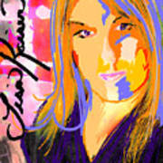 Self Portraiture Digital Art Photography Art Print