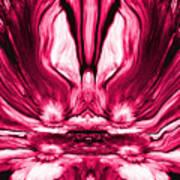 Self Reflection - Pink Art Print