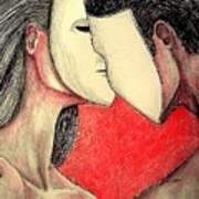 Selfish Relationships Print by Paulo Zerbato