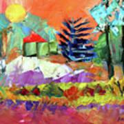 Sellersville Sunset Art Print
