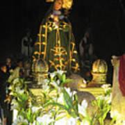 Semana Santa Procession Night Art Print