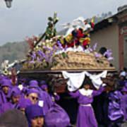 Semana Santa Procession V Art Print