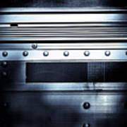 Semi Truck Monocromatico Art Print