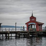 Seneca Lake Pier Art Print