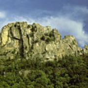 Seneca Rocks Art Print