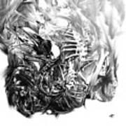 Senescence 7 Art Print