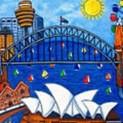 Sensational Sydney Art Print