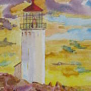 Sentinel Lighthouse Art Print
