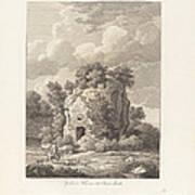 Sepolcro A Falerium Citt? Etrusca Ditrutta Art Print