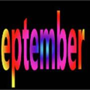 September 1 Art Print