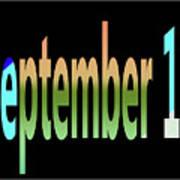September 10 Art Print