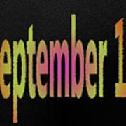 September 11 Art Print