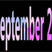 September 22 Art Print
