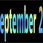September 23 Art Print