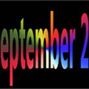 September 25 Art Print