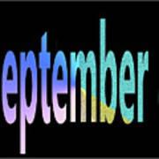 September 8 Art Print
