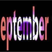 September 9 Art Print