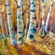 September Aspen Art Print