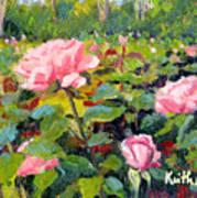 September Roses Art Print