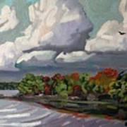 September Sky 2012 Art Print