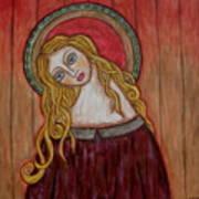 Serena Art Print by Rain Ririn