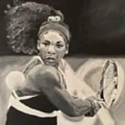 Serena Williams Art Print