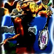Serena Williams Thermal Catsuit Art Print