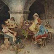 Serenade In The Tavern Art Print
