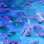 Serene Pond Art Print