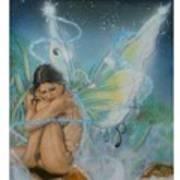 Serenity Art Print by Crispin  Delgado