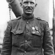 Sergeant York - World War I Portrait Art Print