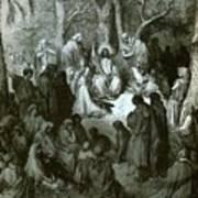 Sermon On The Mount Art Print