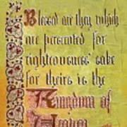 Sermon9 Art Print