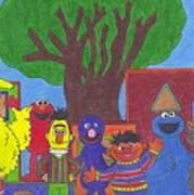 Children's Characters Art Print