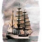 Set Sail Art Print by Aaron Berg