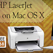 Set Up Hp Laserjet 1020 Drivers On Mac Os X Art Print