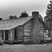 Settlers Cabin Tennessee Art Print