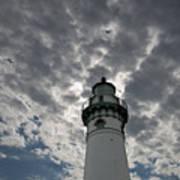 Seul Choix Lighthouse Art Print