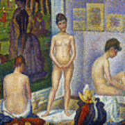 Seurat: Models, C1866 Art Print by Granger