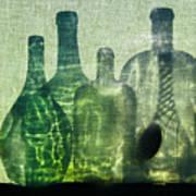 Seven Bottles Art Print