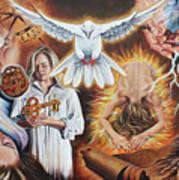 Seven-fold Spirit Of The Lord Art Print
