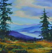 Seven Mile Saddle Art Print